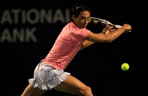Нью-Хэйвен (WTA). Скьявоне выходит во второй круг