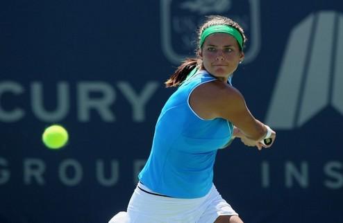 Даллас (WTA). Гергес идет дальше