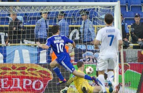 Уверенная победа Динамо в Днепропетровске