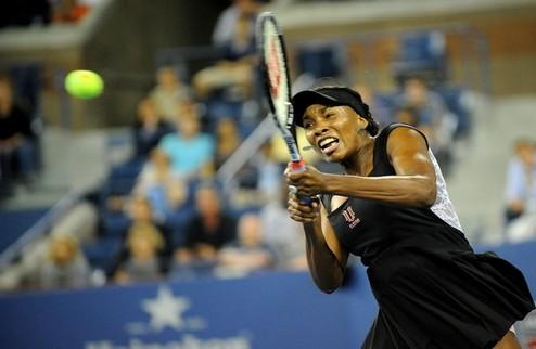 US Open (WTA). Винус Уильямс и Стосур выходят во второй круг
