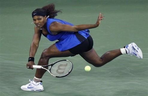US Open (WTA). Серена Уильямс идет дальше