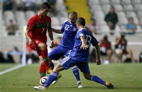 Португалия громит Кипр + ВИДЕО