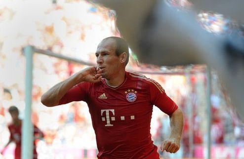Бавария надеется продлить контракт с Роббеном
