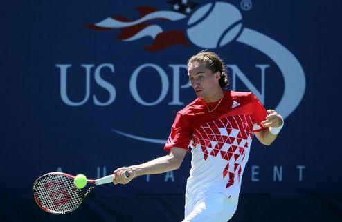 US Open. Долгополов прошел Карловича