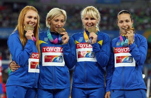Легкая атлетика. Медальный финал Украины, мировой рекорд Ямайки