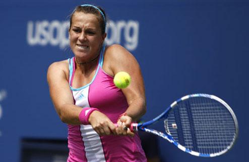 Павлюченкова вышла в четвертьфинал US Open