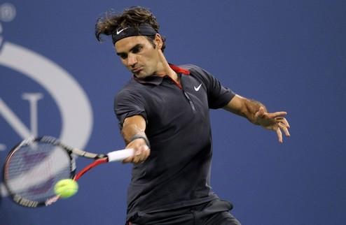US Open (ATP). Федерер громит соперника