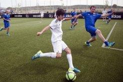 Сын Зидана провел тренировку с Реалом