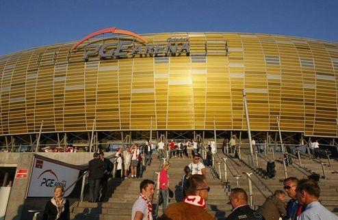 Блащиковски и Смуда в восторге от стадиона в Гданьске