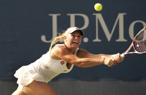 US Open (WTA). Возняцки идет дальше