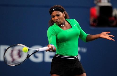 С.Уильямс вышла в полуфинал US Open