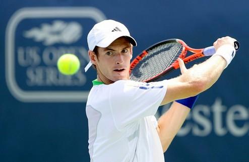 Мюррей переиграл Иснера в четвертьфинале US Open