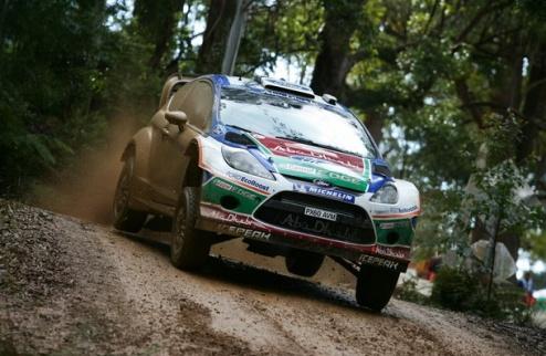 WRC. Ралли Австралии. Форды продолжают лидировать