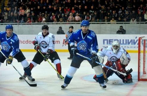 Стартовый матч Донбасса и Сокола в ПХЛ на Первом Национальном