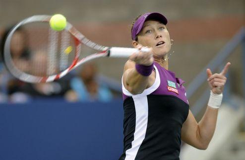 Стосур — первая финалистка US Open
