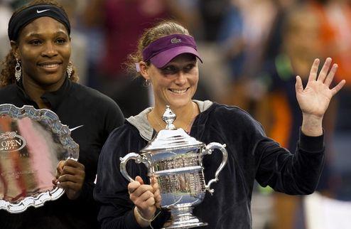 Саманта Стосур выигрывает US Open!