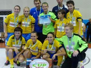 Футзал. Украинки — четвертые на турнире в Узбекистане