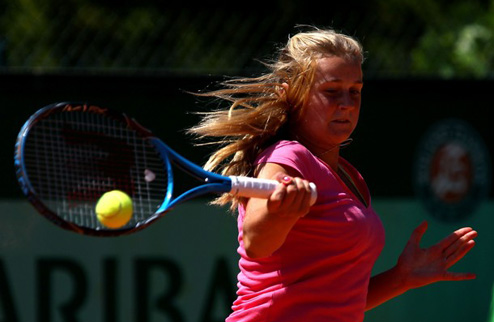 Ковалец вышла в четвертьфинал турнира в Голландии