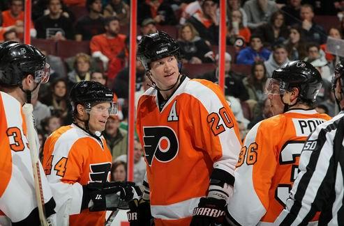 НХЛ. Пронгер назван капитаном Филадельфии