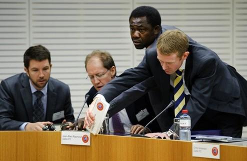 Сьон выиграл у УЕФА дело в гражданском суде