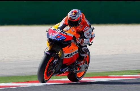 MotoGP. Гран-при Арагона. Стоунер легко берет поул