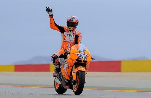 MotoGP. Гран-при Арагона. Сотая победа Хонды