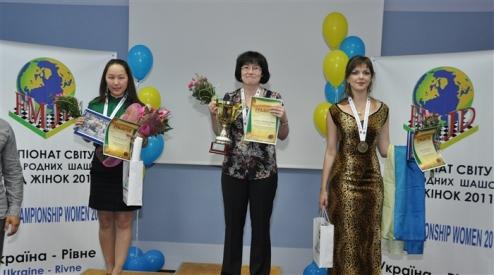 Шашки. Украинка – бронзовый призер чемпионата мира