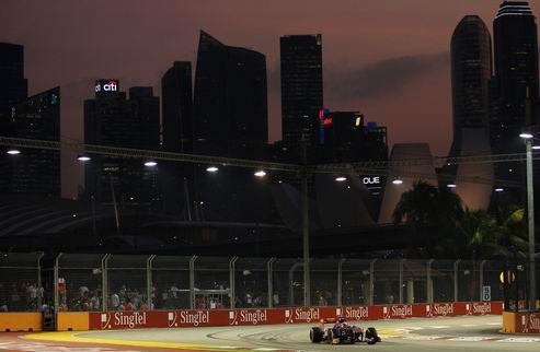 Гран-при Сингапура. Квалификация. Онлайн