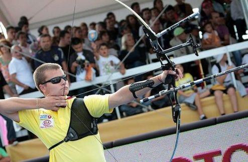 Стрельба из лука. Украинец стал третьим на Кубке мира