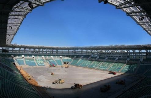 Черноморец сыграет с Карпатами на новом стадионе