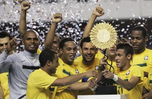 Суперклассика Америки. Бразилия сильнее Аргентины + ВИДЕО