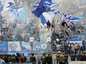 Фанаты Зенита подверглись нападению