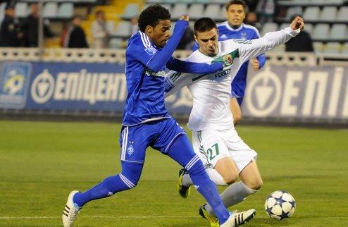 Волевая победа Динамо в Полтаве