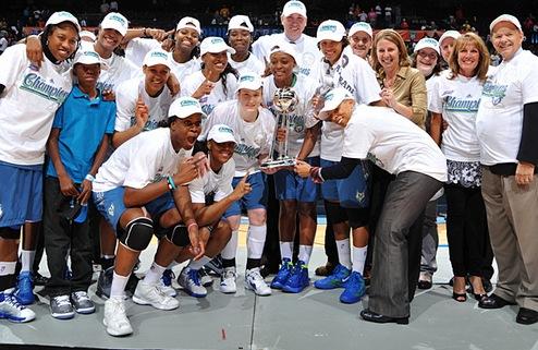Миннесота — чемпион WNBA