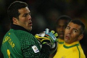 Бразилия лишается основного вратаря