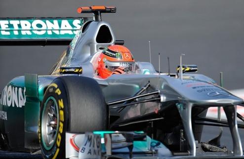 Гран-При Кореи. Первая практика за Шумахером