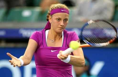Линц (WTA). Квитова не испытала проблем с Гантуховой