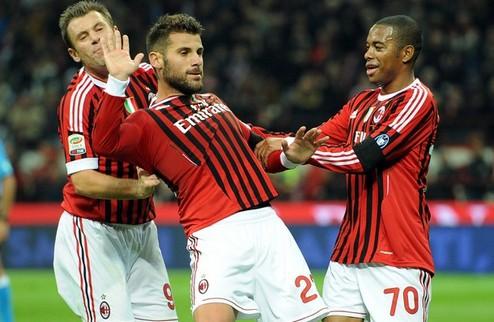 К Милану возвращаются победы, от Наполи — уходят + ВИДЕО