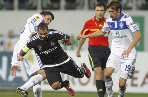 Динамо вырывает победу у Бешикташа