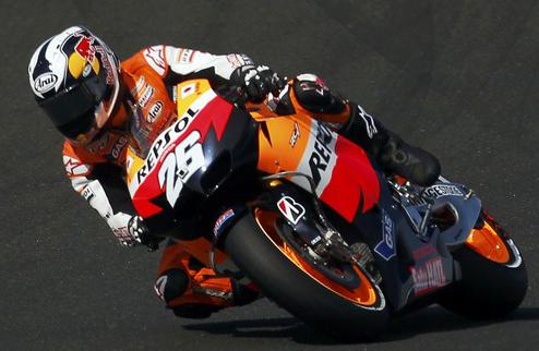 MotoGP. Гран-при Малайзии. Педроса выигрывает квалификацию