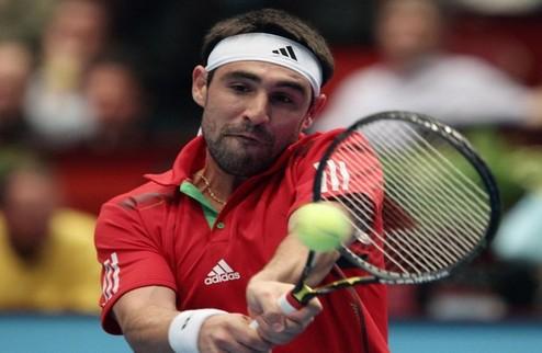 Вена (ATP). Багдатис вышел во второй круг