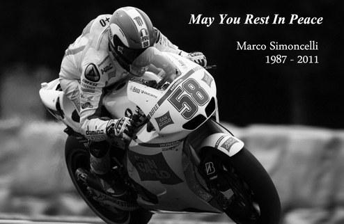 MotoGP. Трибьют Марко Симончелли. ВИДЕО