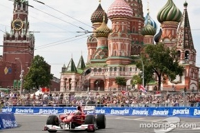Этап Ф-1 может состояться под Москвой
