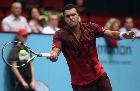 Вена (ATP). Тсонга одерживает волевую победу