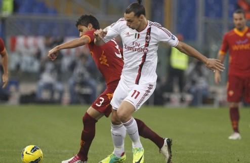 Милан обыгрывает Рому, Катанья огорчает Наполи +ВИДЕО