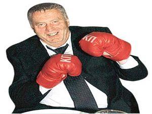 Жириновский померяется силами с Тони