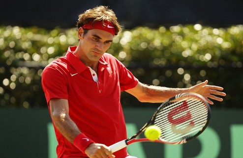 Базель (ATP). Федерер вышел во второй круг