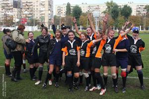 Сезон по женскому регби-7 закроется в Одессе