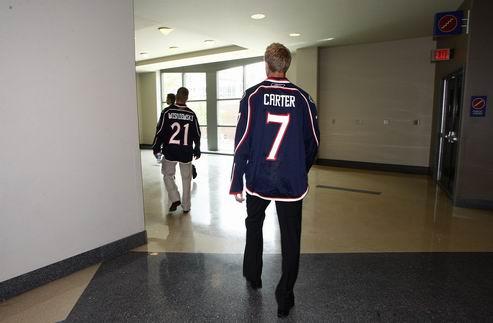 НХЛ. Картер не сыграет против Филадельфии