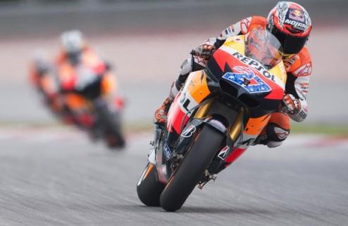 MotoGP. Гран-при Валенсии. Практика № 1. Победа Стоунера